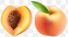 Peach Transparent Clip Art Image - Peach Fruit Clip Art PNG