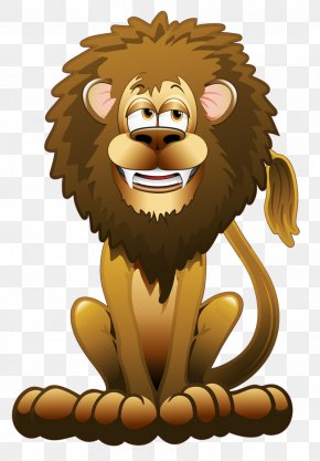 Lion - Lion Vector Graphics Animal Illustrations Image Cartoon PNG