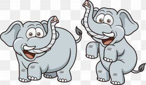 Cartoon Elephant - Elephant Cartoon Royalty-free Illustration PNG