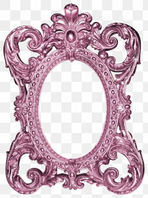 Mirror Frame - Picture Frame Mirror Photography Clip Art PNG