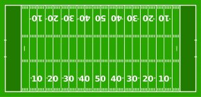 Yard Line Cliparts - American Football Field End Zone Gridiron Football Hash Marks PNG