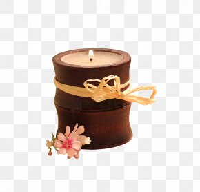 Retro Bamboo Fragrance - Candle Light Flame Hotel Aroma PNG