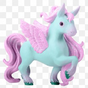 Unicorn - Figurine Winged Unicorn Pegasus Legendary Creature PNG