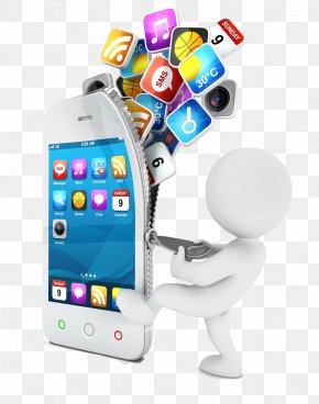 Creative Mobile Phone Model - Mobile App Development Application Software IOS Android PNG