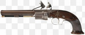 Weapon - Revolver Flintlock Firearm Pistol Colt Single Action Army PNG