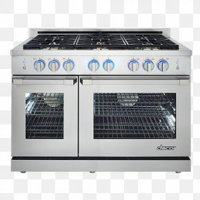 Home Appliance - Cooking Ranges Gas Stove Dacor Natural Gas Convection Oven PNG