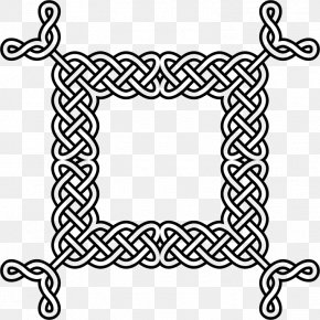 Design - Celtic Knot Picture Frames Borders And Frames Pattern PNG