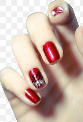 Nail Works - Christmas Nail Art Santa Claus Glitter PNG