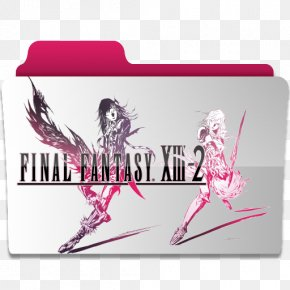 Fantasy Title Box - Final Fantasy XIII-2 Lightning Returns: Final Fantasy XIII PlayStation 3 PNG