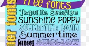 Summer Font - Open-source Unicode Typefaces DaFont Letter Case Font PNG