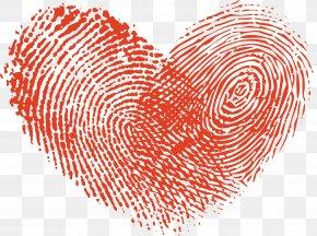 Fingerprint Love - Fingerprint Icon PNG