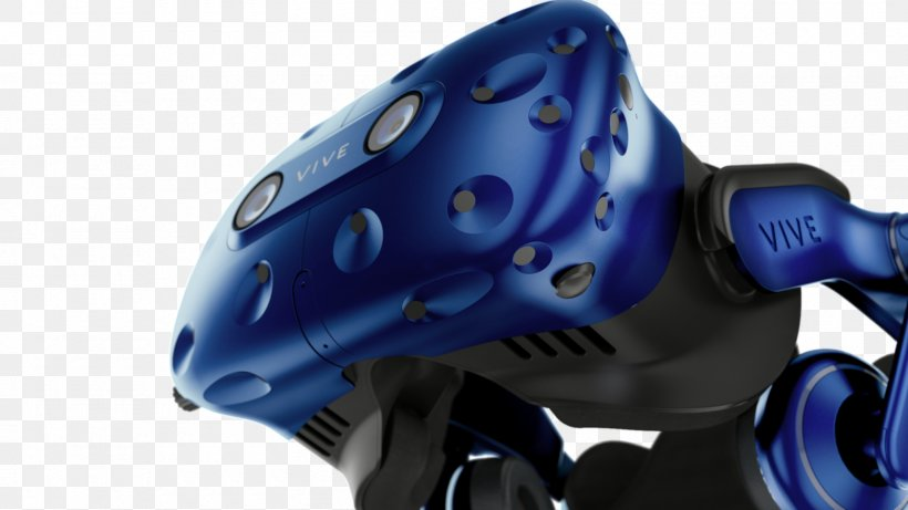 HTC Vive Head-mounted Display Oculus Rift Virtual Reality Headset, PNG, 1600x900px, Htc Vive, Augmented Reality, Bicycle Helmet, Electric Blue, Hardware Download Free