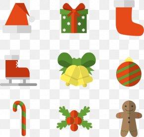 Nine Christmas Label - Christmas Gift Gratis PNG