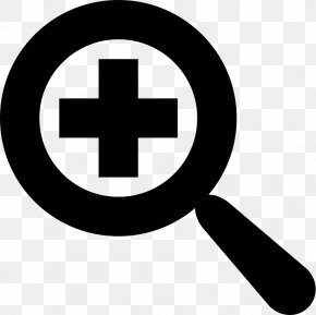 Magnifying Glass - Zooming User Interface Icon Design PNG