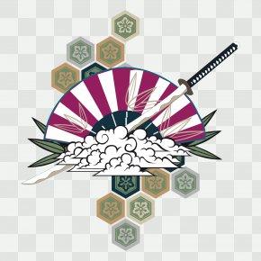 Vector Japan Kendo Background - Japan Illustration PNG