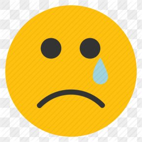 Crying Face Emoticon - Sadness Smiley Crying Emoticon Clip Art PNG