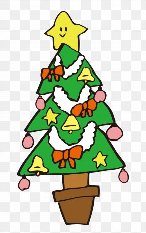 Christmas Tree - Clip Art Christmas Tree Christmas Day Free Content Image PNG