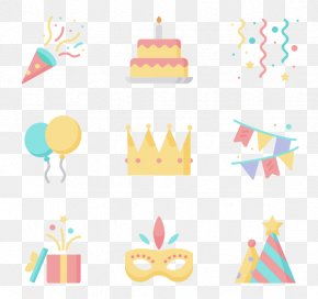 Birthday Party - Birthday Party Hat Clip Art PNG