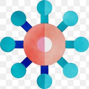 Symmetry Aqua - Turquoise Aqua Circle Clip Art Symmetry PNG