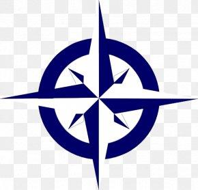 Compass - Compass Rose North Clip Art PNG