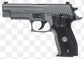 Handgun - SIG Sauer P226 9×19mm Parabellum Firearm Sig Holding PNG