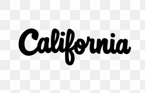 Typography California Logo DaFont Font PNG