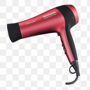 Volume Straight Hair Salon Hair Dryer - Hair Dryer Beauty Parlour Hairdresser PNG