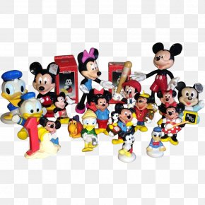 Minnie Mouse - Minnie Mouse Mickey Mouse Donald Duck Pluto Figurine PNG