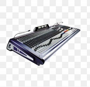 Keyboard Mixer - Microphone Mixing Console Soundcraft Live Sound Mixing Communication Channel PNG
