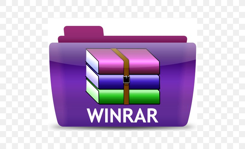 WinRAR Zip Computer File Computer Software, PNG, 500x500px, Winrar, Brand, Compress, Computer Program, Computer Security Download Free
