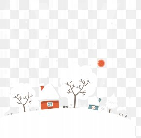 Snowy Winter - Winter Snow Euclidean Vector PNG