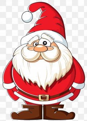 Santa Clip Art Image - Santa Claus Rudolph NORAD Tracks Santa PNG