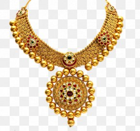 Jewellery Shop - Earring Jewellery Necklace Gold PNG