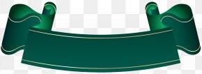 Green Banner Transparent Clip Art - Banner Purple Clip Art PNG