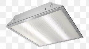 Light Fixture - Troffer Light Fixture PNG