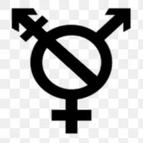 Symbol - Lack Of Gender Identities Gender Symbol Transgender PNG