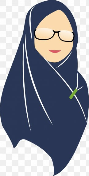 Arabic Baby Clip Art Muslimah - Woman Hijab Cartoon Clip Art Image PNG