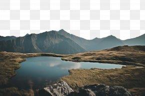 Water Natural Landscape - Body Of Water Tarn Mountainous Landforms Nature Mountain PNG