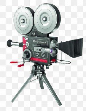 Retro Vintage Movie Camera Assignment - Movie Camera Video Camera PNG