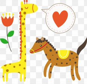 Giraffe - Okapi Spotted Saddle Horse Northern Giraffe Image PNG