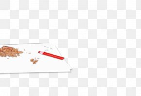 Paper Crumbs And Paint Pens - Rectangle PNG