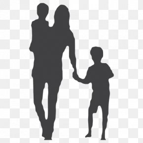 Mother's Day - Child Silhouette Family Mother Woman PNG