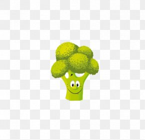 Cauliflower - Vegetable Cartoon Clip Art PNG