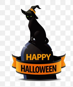 Black Cat - Black Cat Halloween Costume PNG