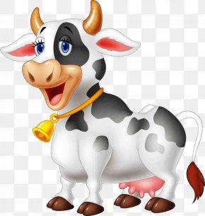 Cartoon Cow - Cattle Cartoon Farm Livestock PNG