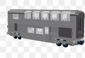 Train - Railroad Car Train Passenger Car Rail Transport PNG