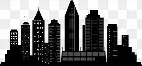 City Silhouette Clip Art - San Diego Silhouette Skyline PNG