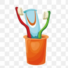 Vector Cleaning Toothbrush - Toothbrush Dentistry PNG