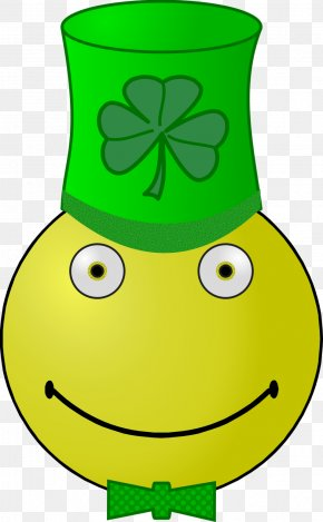 Saint Patrick's Day - Saint Patrick's Day Smiley Clip Art PNG