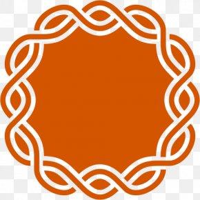 Orange Frame Cliparts - Sticker Decal Mat Zazzle Clip Art PNG